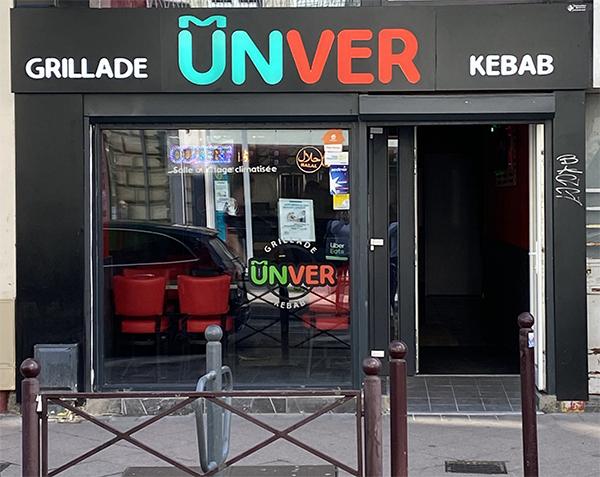 Restaurant Unver Kebab - Lille